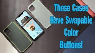 Spigen iPhone 11 Case That Can Color Swap Buttons - Review