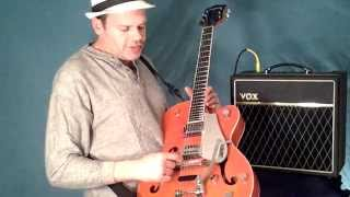 Helpful Hints For New Gretsch Guitar Owners + Vox Amp Overview