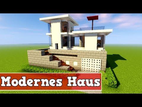 Wie Baut Man Ein Modernes Hausboot In Minecraft Minecraft Modernes - Minecraft haus bauen video