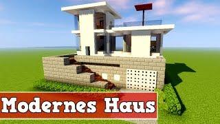 Minecraft Modernes Haus Bauen Deutsch Vid - Minecraft haus bauen tutorial deutsch