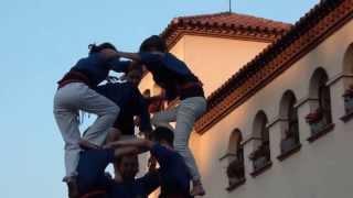 preview picture of video 'Castellers d'Esplugues a Barberà del Vallès -  3d7 '