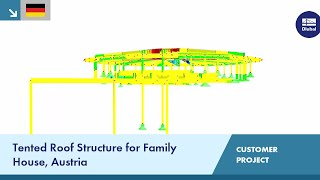 [DE] CP 000777 | Tented Roof Structure for Family House, Austria