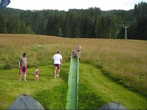 Wasserrutschparty am Berghof Sturmgut