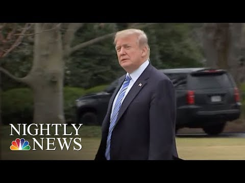 President Donald Trump: Russians 'Laughing' Over Election Interference Indictment | NBC Nightly News