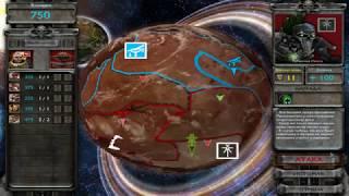 Warhammer 40,000: Dawn of War Soulstorm захват базы Некронов.