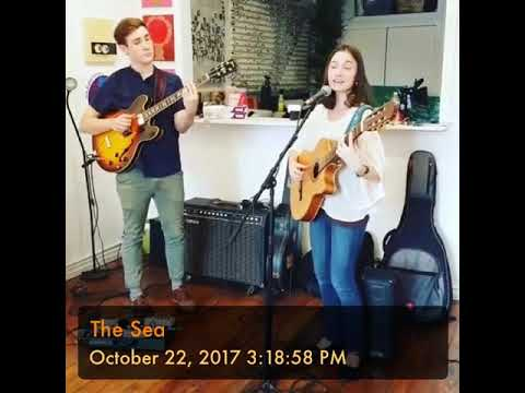 """The Sea"" Crystal Rose Bushwick Art Show 2017"