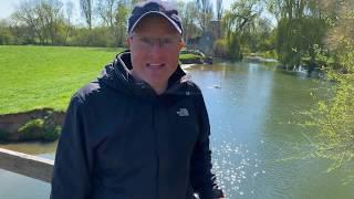 I Struggle To Turn Narrowboat On The Thames & Visit Oxford