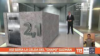 """Así será la celda donde vivirá """"El Chapo"""" Guzmán - #T13TeExplica"""