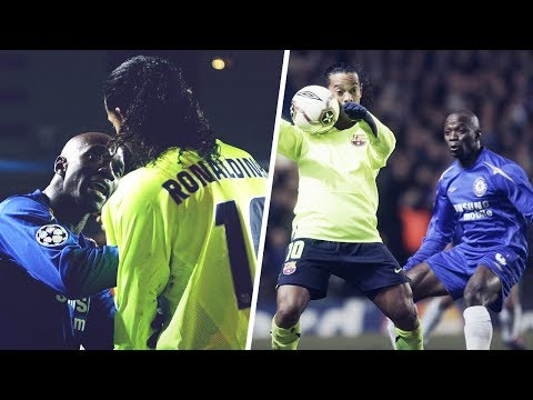 The day Makélélé put Ronaldinho in his place | Oh My Goal