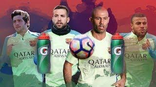 FC Barcelona: The bottle-goal challenge #2