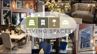 🏡SHOP WITH ME LIVING SPACES HOME DECOR IDEAS  (looking For The Perfect Mirror) 🏡