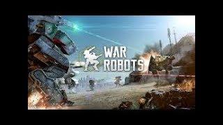 War Robots Live Stream Part 23!! Give Away Part 1