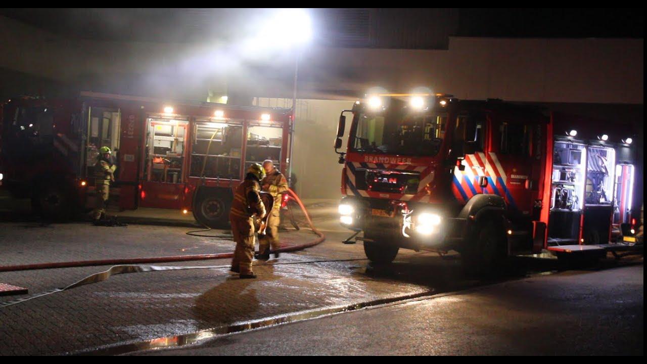 13-10-2020 Brandweer groot uitgerukt naar brand in Wekerom