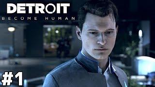 2038年、アンドロイドと暮らす街【Detroit: Become Human】#1
