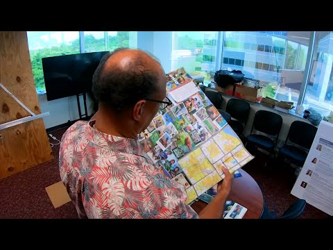 If your summer travel plans involve traversing Ohio and you're still a fan of paper maps, it's time you meet Bruce Hull. Hull is behind much of the visual flair and handy information on the state's road maps. (July 2)