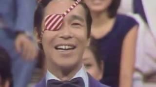デビュー直後のタモリ。デタラメ中国語講座昭和51年1976チェルシア・チャン陳秋霞