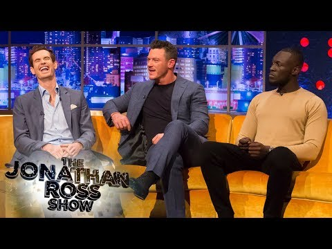 Andy Murray, Luke Evans & Stormzy Compare Injuries   The Jonathan Ross Show