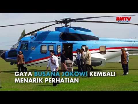 Akankah Sarung Jokowi Jadi Tren Lagi ?