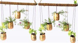 Plastic Bottle Hanging Garden /bottle Garden//ORGANIC GARDEN