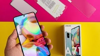 Samsung Galaxy A51 & A71 Panzerglas – Alle mehr als enttäuschend