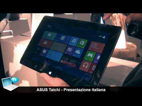 ASUS Taichi ultrabook tablet dual-screen con Windows 8 (ITA)
