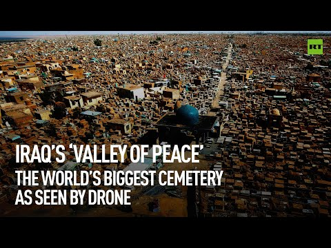 Iraq's 'Valley of Peace' | World's biggest cemetery captured by drone