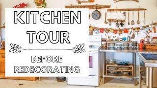 Kitchen Tour! | Our Vintage Kitchen | Vintage Home Decor & Flea Market Finds