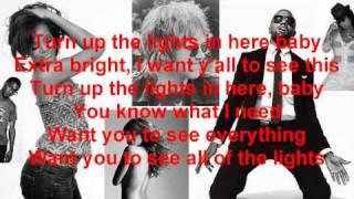 Kanye West All Of The Lights Lyrics