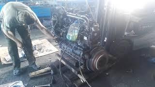 Первая заводка двигателя Д-260 от трактора мтз 1221 после кап.ремонта