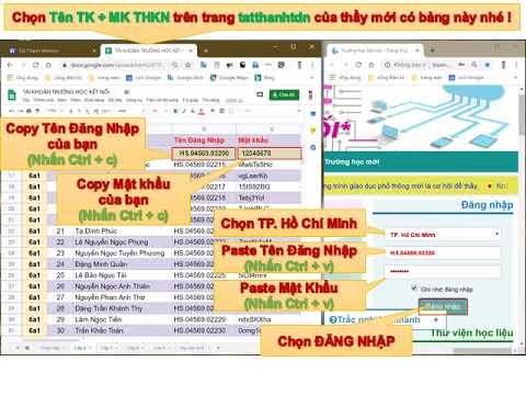HD Học sinh Làm bài tập trên trang Trường học kết nối (THKN)