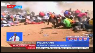 Several injured in Migori after chaos broke out in an ODM rally