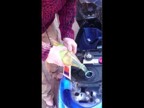 Wie das Benzin mit wensy zusammenzuziehen