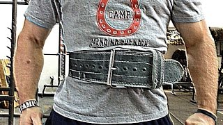 How To: Use a Lifting Belt