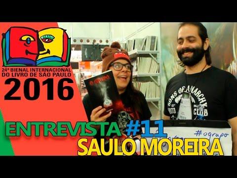 Bienal do Livro 2016 - Entrevista com o autor Saulo Moreira