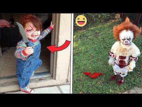 10 Disfraces de Halloween terroríficos en niños