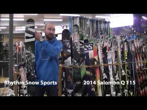 2014 Salomon Q 115 Ski Review