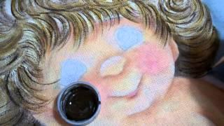 Série anjinhos fazendo os fios de cabelo – Fase 7