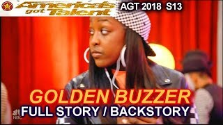 Flau'jae WINNER GOLDEN BUZZER FULL STORY OR BACKSTORY America's Got Talent 2018 Judge Cuts 4 AGT