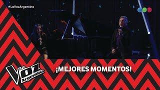 """Ricardo Y Evaluna Montaner Cantan """"Me Va A Extrañar"""" - La Voz Argentina 2018"""