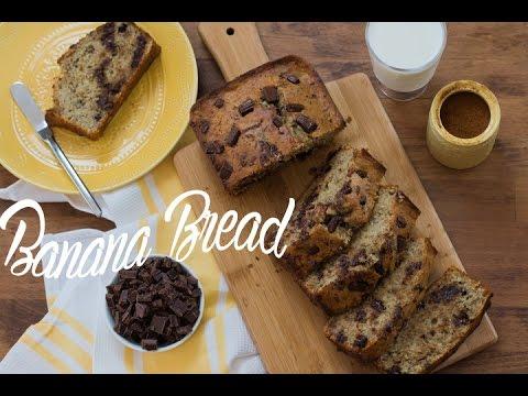 BANANA BREAD {Especial Receitas Americanas}