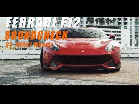 The iPE Titanium exhaust for Ferrari F12