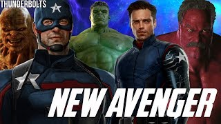 New Captain America & The Return of Hulk & Abomination + Thunderbolts in Falcon & The Winter Soldier
