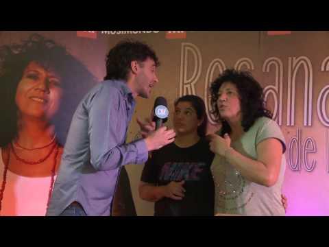 Rosana video Firma de discos - Argentina | Noviembre 2016