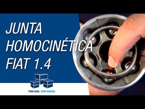 Qual o código de aplicação correto da Junta homocinética para linha Fiat 1.4?