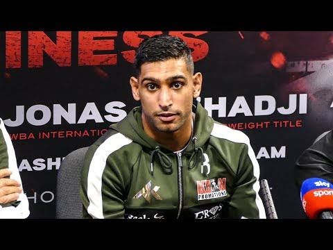 Amir Khan POST FIGHT PRESS CONFERENCE | vs Phil Lo Greco