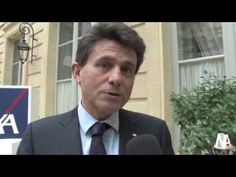 JT News Assurances : Jean Azéma et Henri de Castries présent