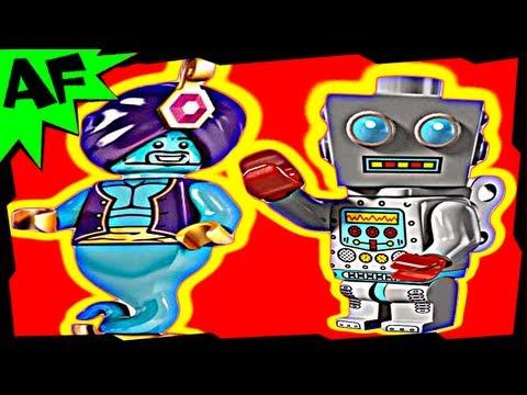 Vidéo LEGO Minifigures 8827 : Série 6