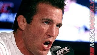Chael Sonnen Firing on All Cylinders (UFC 148 Pre-Fight Press Conference) HD