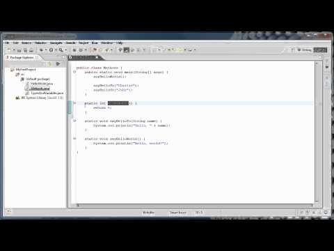 Java Programming: 4 – Methods