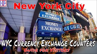New York City (NYC) Currency Exchange Guide | NYC Travel - Episode# 4